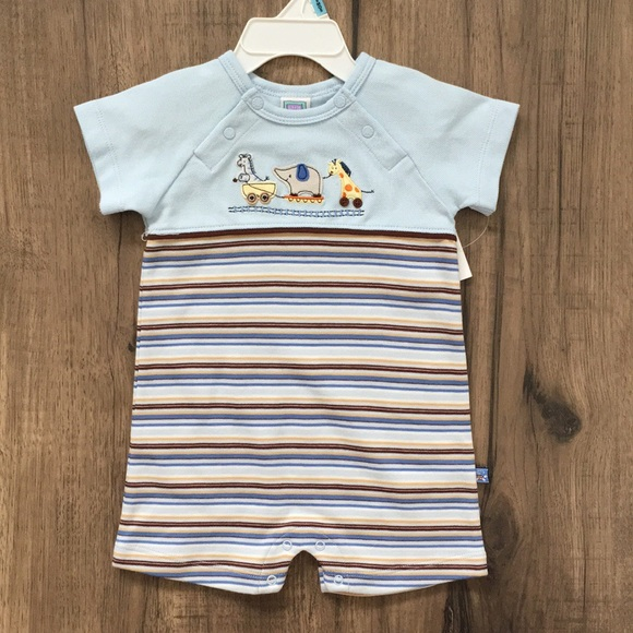 f3078653bfe Brand new Little Me baby boy romper 6 months